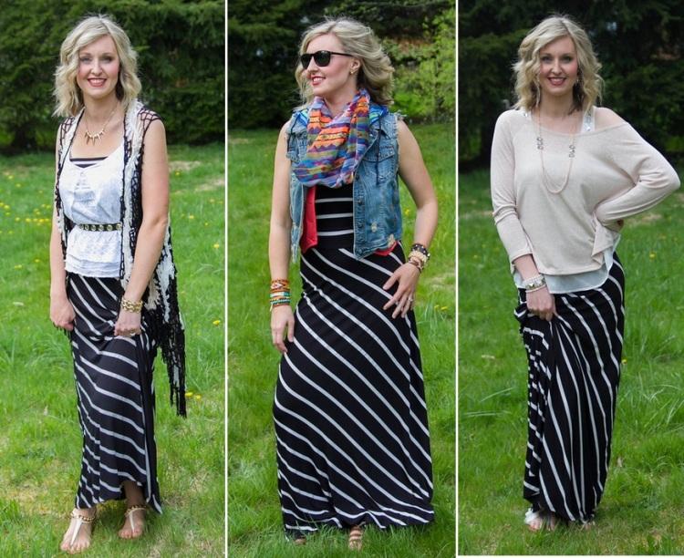 3 Ways to Wear a Maxi Dress