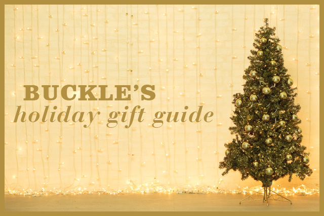 Buckle's Holiday Gift Guide