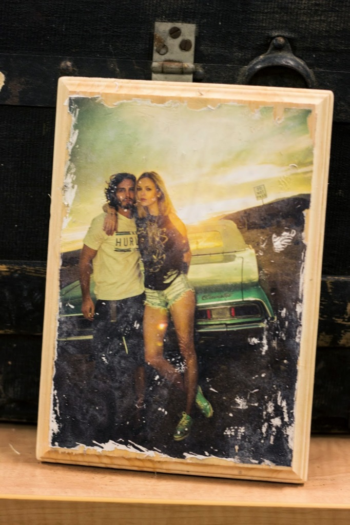 DIY Photo Wood Transfer