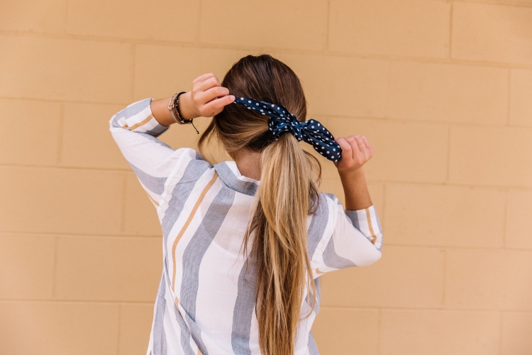 Now trending, hair accessories that pop.