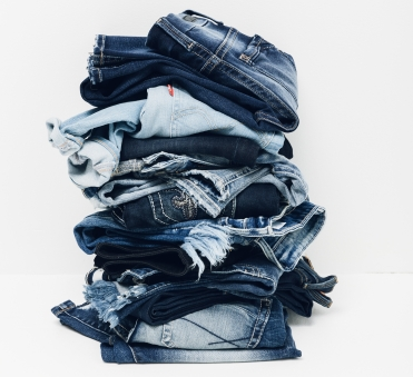 Buckle jeans as a gift