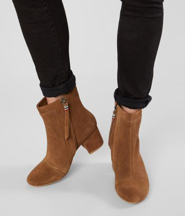 Women's TOMS Evie Brown Suede Ankle Boot