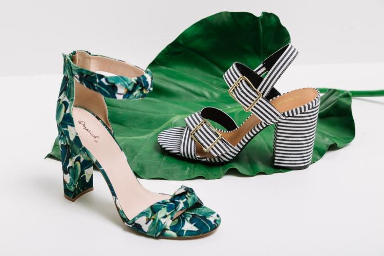 Print heels at Buckle