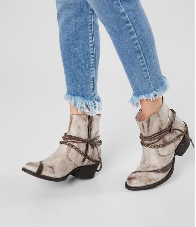 Women's Miss Macie Desert Dancer Leather Ankle Boot