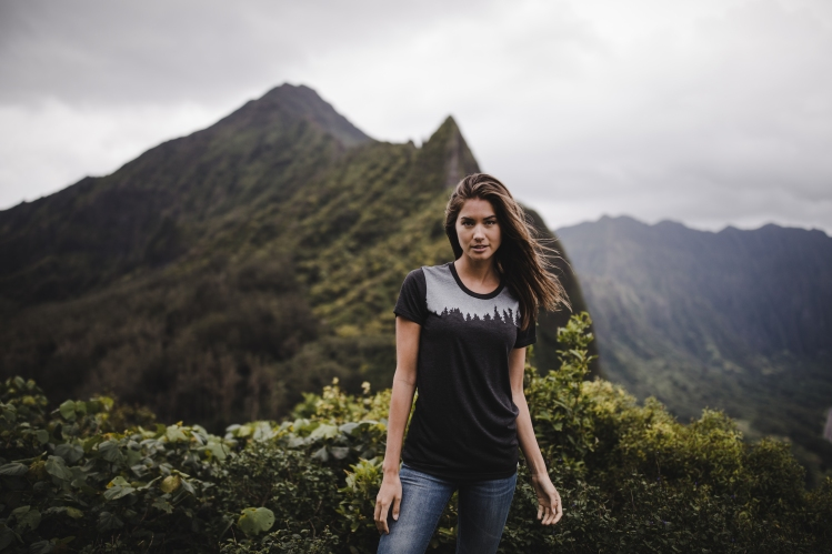 Tentree clothing is made from sustainable and eco-friendly fabrics and materials.