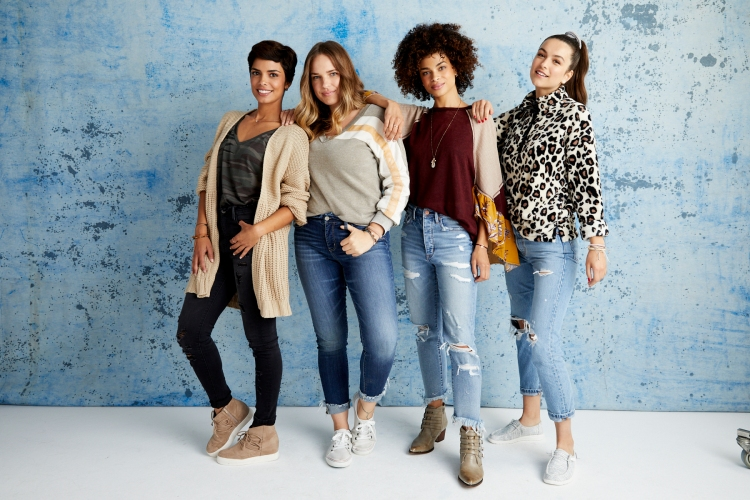 our first look at fall looks great on you - and you'll love the price