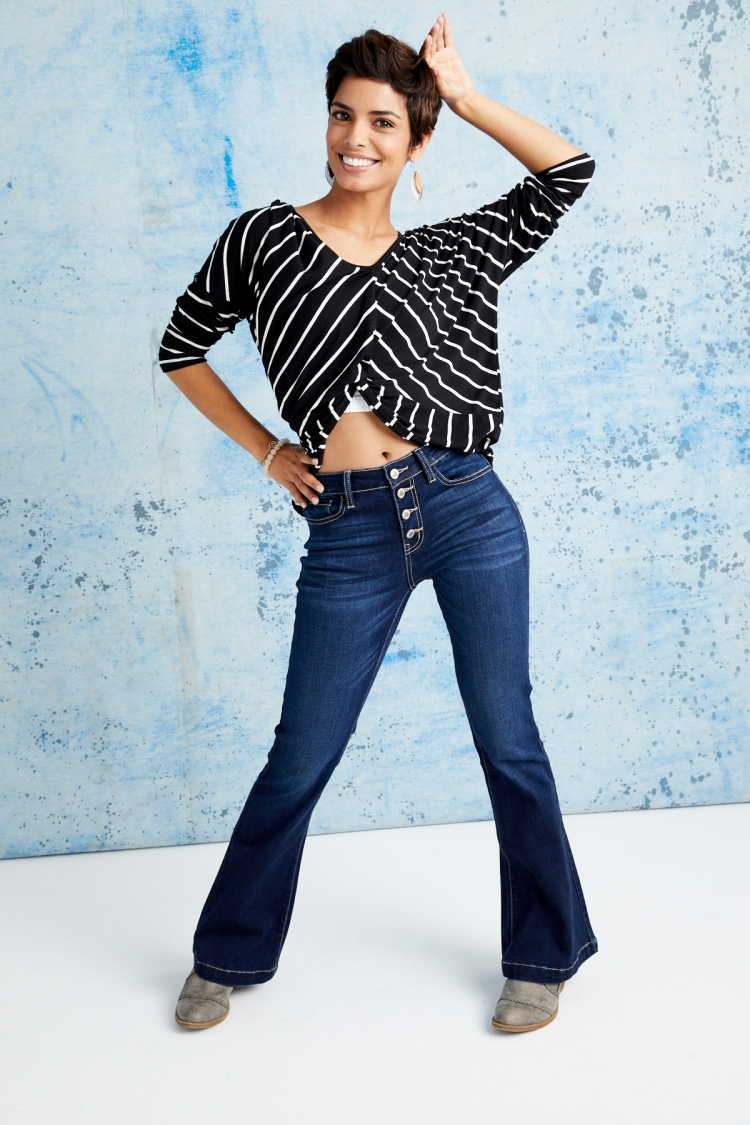 Women's KanCan Signature Flare Jeans on Buckle Loyalty Event.