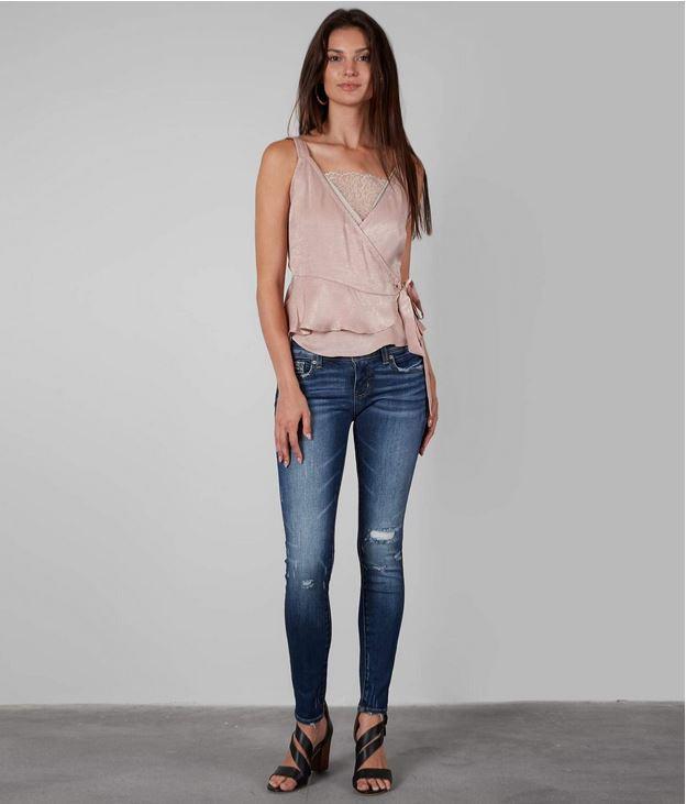 Women's Buckle Black Fit No. 23 Slim Fit Low Rise Skinny Jeans