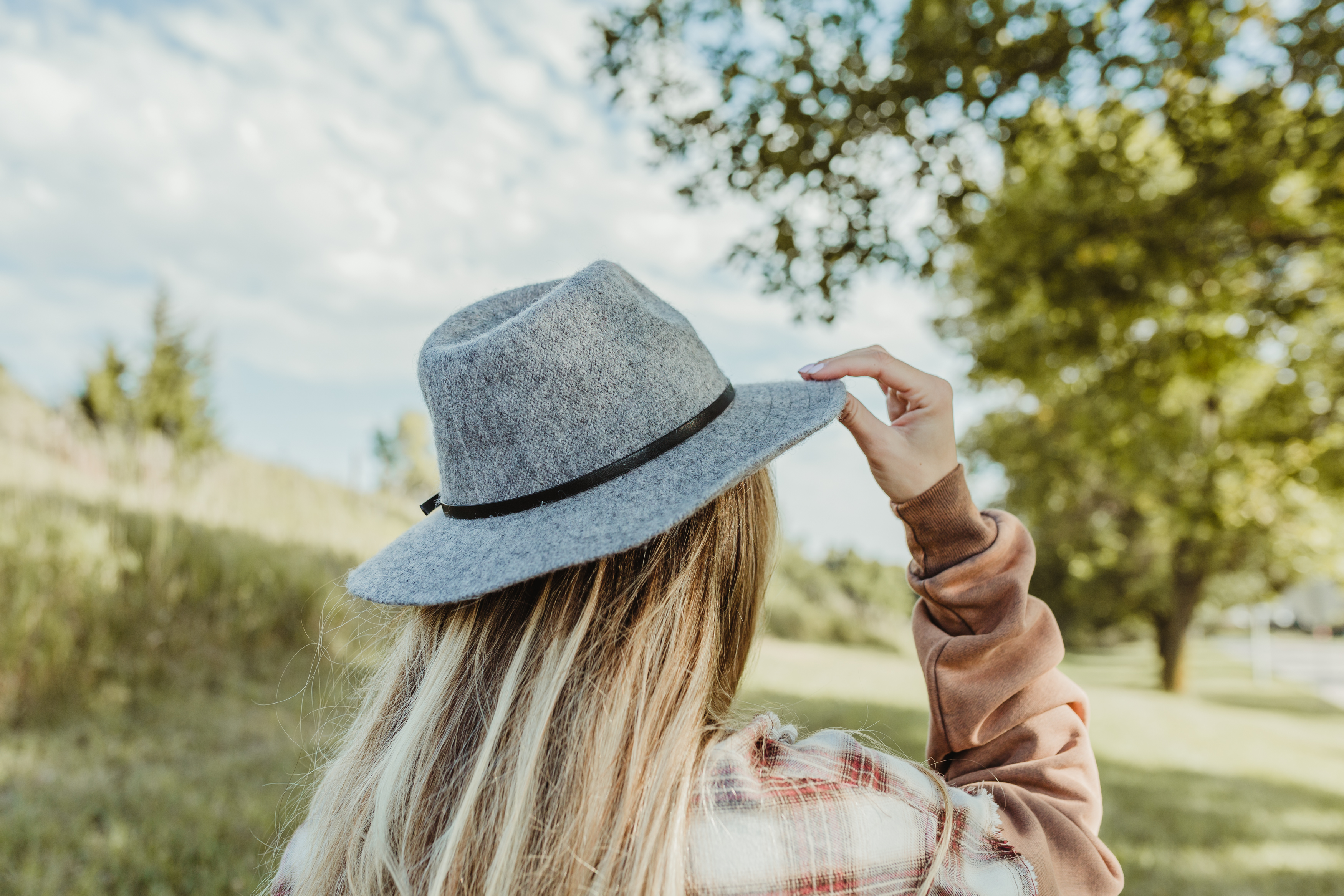 arguably one of the biggest accessory trends courtesy of instagram, adding a hat has a way of pulling every outfit together.